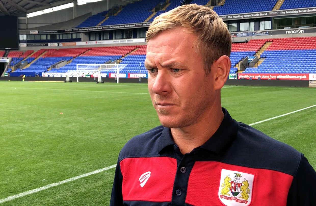 Video: Dean Holden Post-Bolton Wanderers away thumbnail