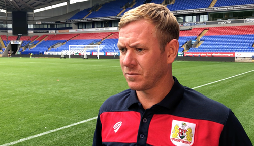 Video: Dean Holden Post-Bolton Wanderers away