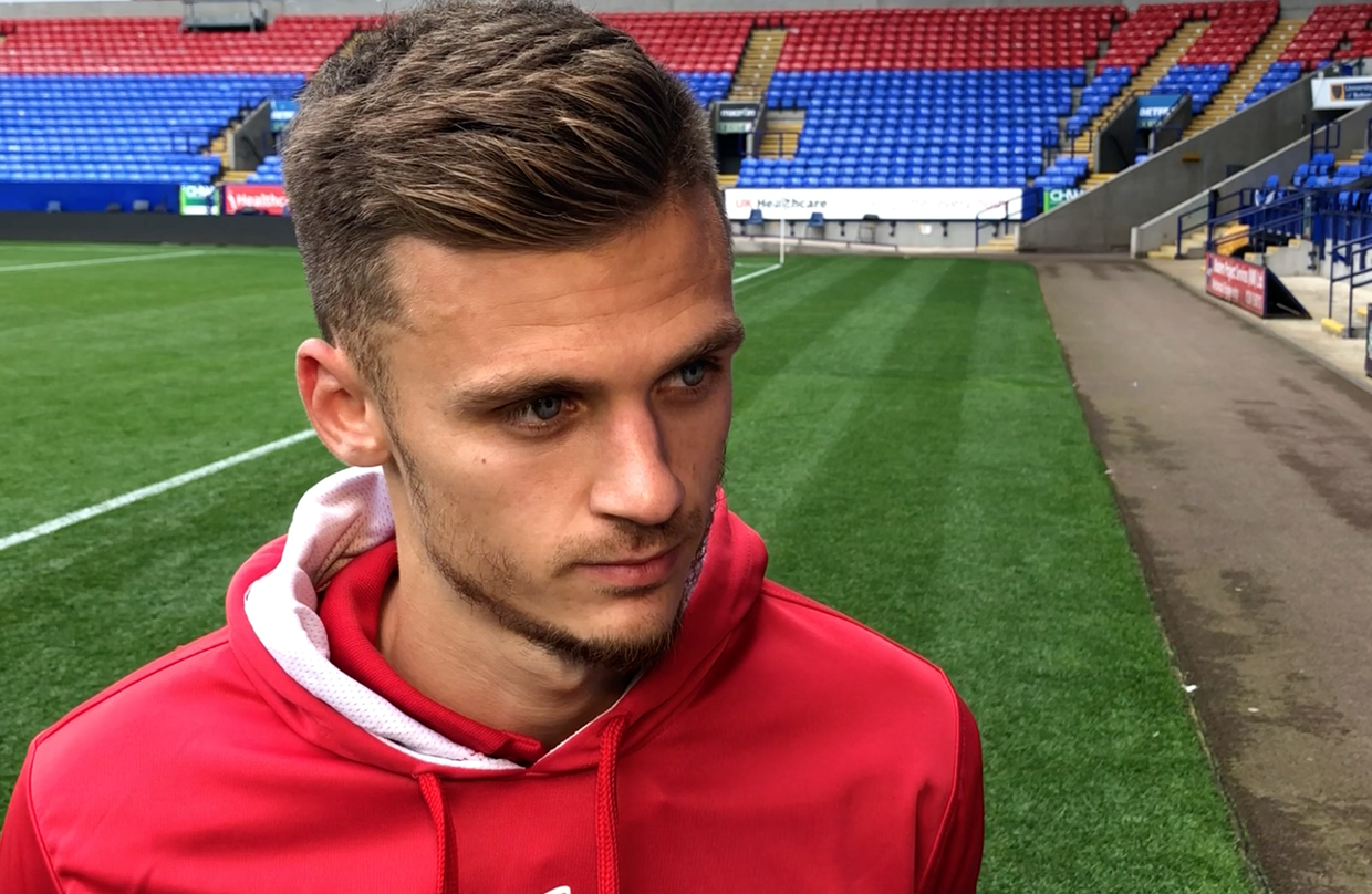Video: Jamie Paterson Post-Bolton Wanderers away thumbnail