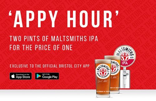 'Appy hour' - Buy one Maltsmiths IPA get one free
