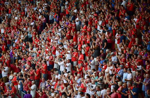 Our fans are the twelfth man - McAllister