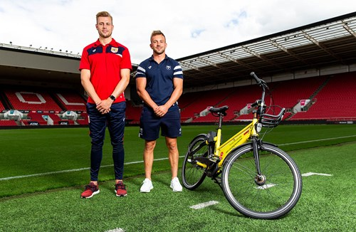 YoBike link up with Ashton Gate
