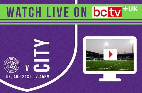 Watch City at QPR live online in the UK