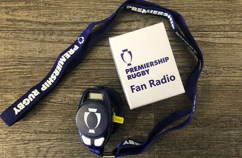Get closer to the match action with a fan radio