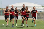 Video: Bristol City Players' First Training Session In Portugal