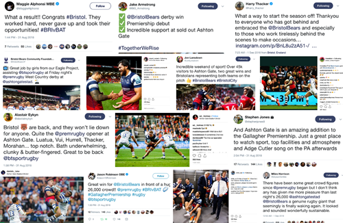 Social media round-up: West Country derby