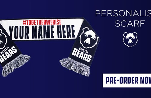 Pre-order your personalised scarves in time for Christmas