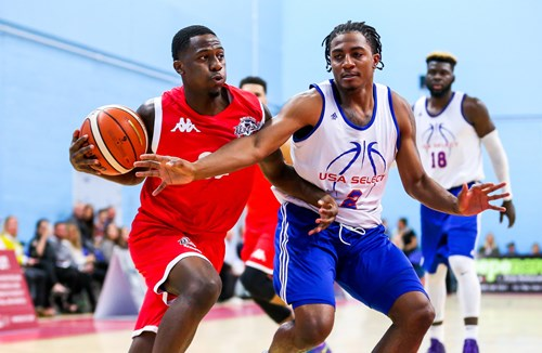 Report: Bristol Flyers 92-46 USA Select