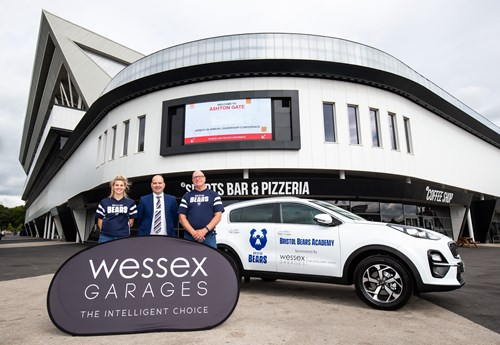 Wessex Garages proud to be official sponsors of the Bristol Bears Academy