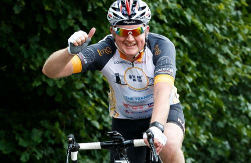 More Than Fifty Riders Complete Mammoth Charity Bike Ride From Ashton Gate