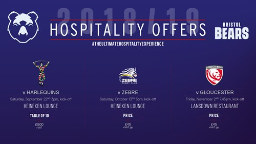 Book matchday hospitality for Harlequins clash!