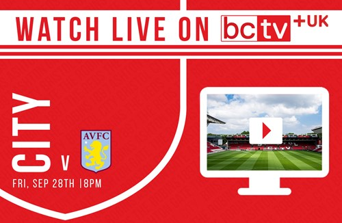Watch City take on Aston Villa live online in the UK