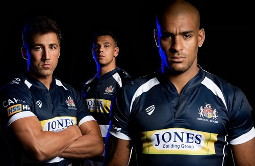 Bristol Rugby Unveil 2015/16 Strip