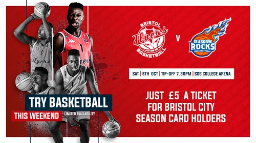 Watch Bristol Flyers for a fiver