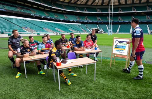 Premiership Rugby launches Tackling Health programme