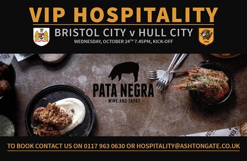 Get the Pata Negra VIP treatment for Hull City clash