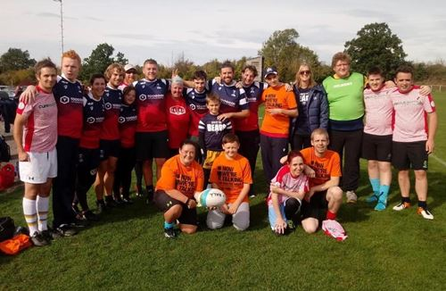 First outing for Foundation's mixed-ability squad at Sixways