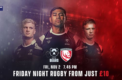 Kids for a quid for Friday night rugby
