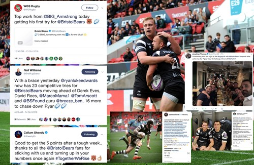 Social media round-up: Bears bounce back