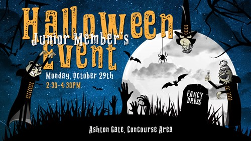 Spook-tacular Halloween members event at Ashton Gate
