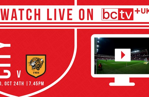 Watch City take on Hull City live online in the UK