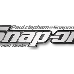 Paul Clapham Snap On Tools logo