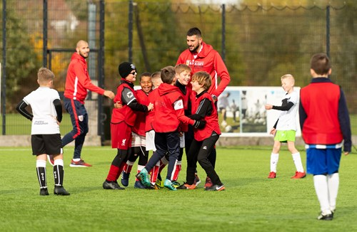 Limited spaces left on half-term football camp