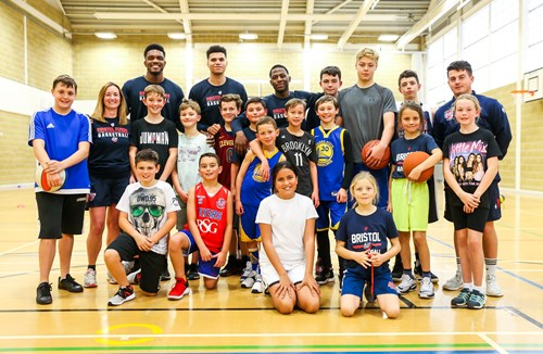 Bristol Flyers summer holiday camps