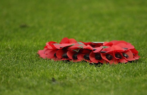 Bristol City v Preston North End: Remembrance tributes