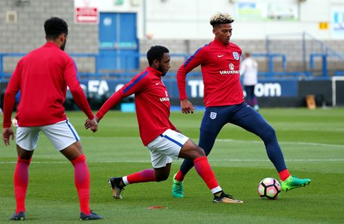 Italian job done as Kelly makes England Under-21 debut