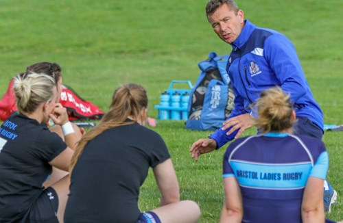 Video: Holley Takes Bristol Ladies Training