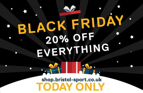 20% off all items on Black Friday!
