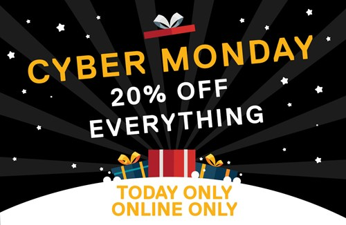 Cyber Monday online offer!
