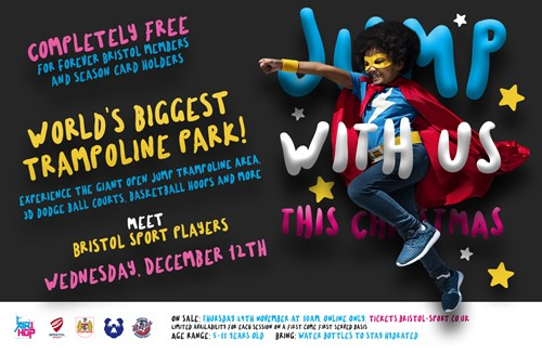 Meet stars from Bristol Sport at the junior members Christmas event!