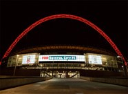 FA Cup football under the lights