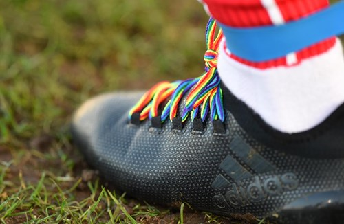 City support Rainbow Laces and tie up with Bristol Panthers