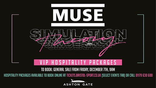 Muse add Ashton Gate Stadium tour date