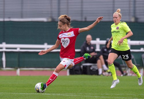 Report: Everton Ladies 0-2 Bristol City Women