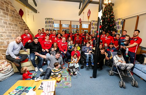 Spreading Christmas cheer at CHSW