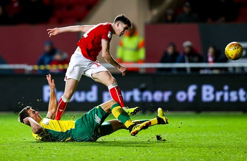 Report: Bristol City 2-2 Norwich City