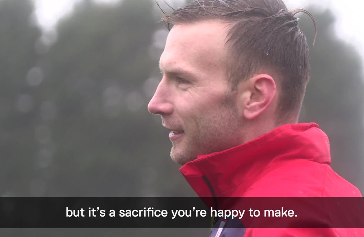 Andi Weimann - Pre-Derby County away thumbnail