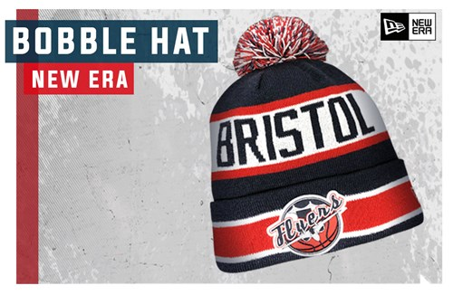 Flyers New Era bobble hats now available