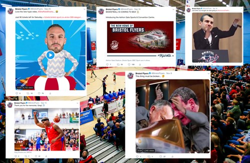 Bristol Flyers Top 10 Social Media Moments of 2018