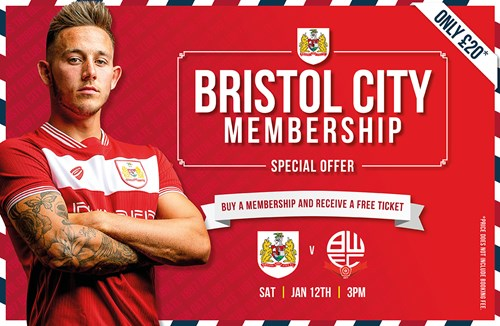 Become a Forever Bristol City member today