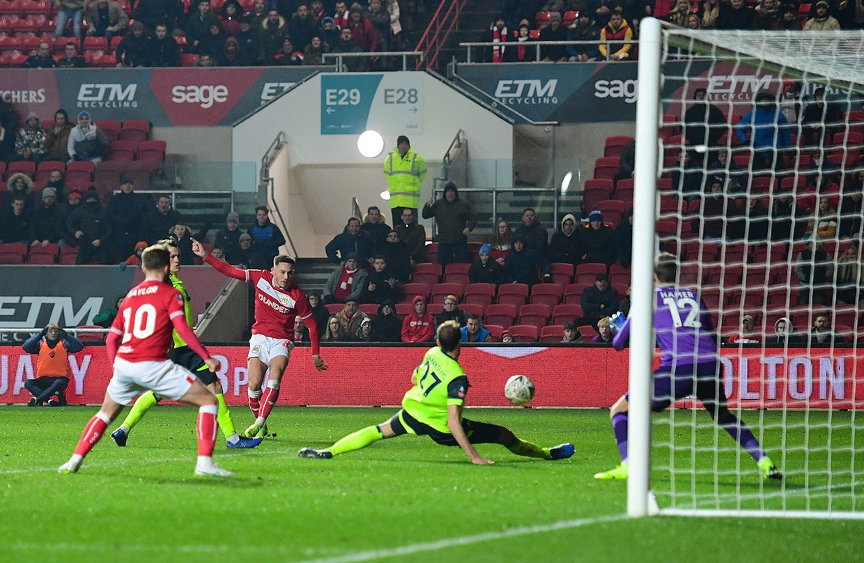 Highlights: Bristol City 1-0 Huddersfield Town (Emirates FA Cup, R3) thumbnail