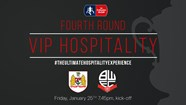 HOSPITALITY AVAILABLE FOR FA CUP TIE