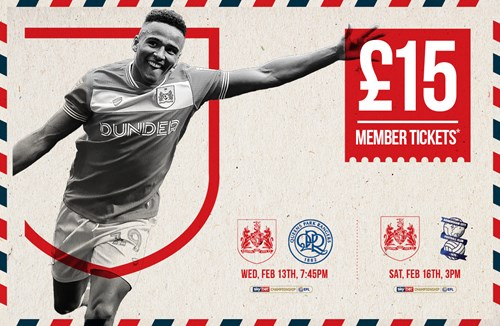 Special offer on February tickets