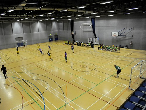 Trust launches futsal centres for youngsters