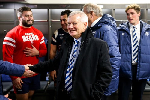 'CVC partnership a great opportunity for rugby' - Lansdown