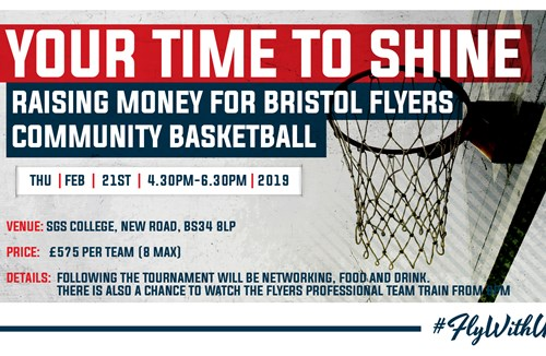 Corporate Basketball festival to raise Flyers community funds
